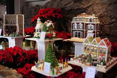 Gingerbread House display at Grove Park Inn is up!