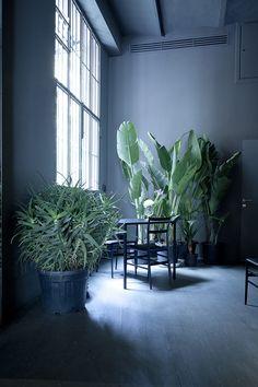 // INSPIRATION// A Blue loft by Rosalba Piccini #pantoneniagara