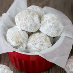 "Tea Cakes (LOVE THESE!) - aka Mexican Wedding cookies....""Snowballs ..."