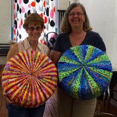 Canton Village Quilt Works | Making Tuffets with Friends Day 1
