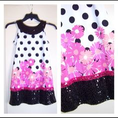 SOLDGirls Justice Sequined Dress size 8 Excellent Condition! SOLD ON MERC Justice Dresses