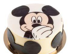 Tarta con oblea Mickey Dekora.