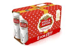 Stella Artois Limited Edition Holiday Packaging