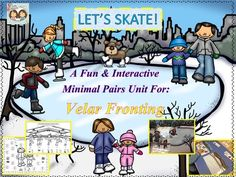 Lets Skate! A Fun & Interactive Minimal Pairs Unit For Velar Fronting from Twin Speech, Language & Literacy LLC on TeachersNotebook.com -  (49 pages)  - This packet is targeted at helping all of the student's who need to reduce velar fronting from their speech. We have designed the activities to be fun, engaging and interactive for children.