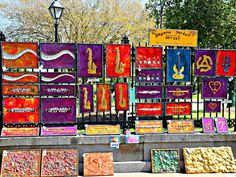 Jackson Square, New Orleans Colorful Art is Very Common Spring Time, Many Tourist in Town… People who own a French Quarter […] New Orleans French Quarter, Jackson Square, Square Art, Condos, Spring Time, The Neighbourhood, Colorful, The Neighborhood