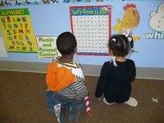 """Centers and Circle Time: Planning for the """" Week of the Young Child"""""""
