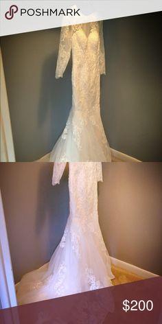 Wedding dress Wedding dress never used Dresses Wedding