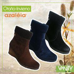 Éste modelo de Azaleia Perú en tres colores marron, azul oscuro, y el clásico negro...encuéntralas en nuestras cinco sucursales Vanity Shoes