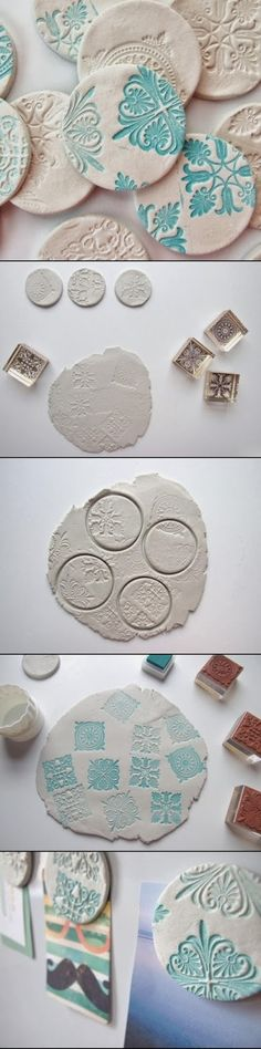 DIY AND CRAFT MIRACLES : Amazing DIY Clay Magnets
