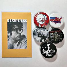 Excited to share the latest addition to my #etsy shop: Bernie Sanders Button Pack, Bernie 2020, Feel The Bern Buttons, Buttons For Bernie Sanders, Resistance Buttons, Buttons For Protest, Liberal