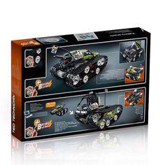 Buy 397PCS Lepininglys Compatible Legoingly 42065 Technic Caterpillar Vehicles RC Tracked Racer Cars playmobil Building Blocks Toys | Hepsia Rc Track, Building Blocks Toys, Toy Sale, Caterpillar, Cars, Vehicles, Stuff To Buy, Playmobil, Autos