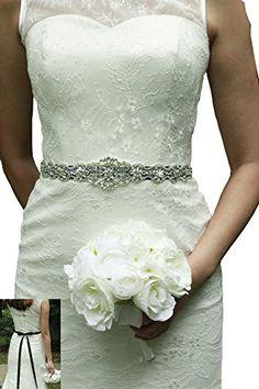 Lemandy Handmade Rhinstone Sash Belts For Wedding Bridal Https Www