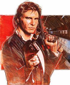 Han Solo by Mark Raats