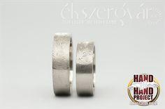 fingerprint. white gold wedding rings  // fehérarany ujjlenyomatos jegygyűrűk