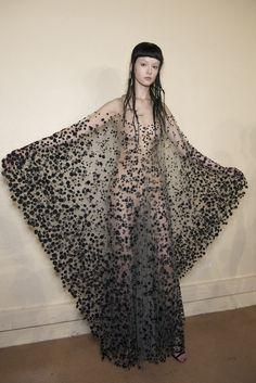 Iris Van Herpen Fall 2017 Couture Fashion Show Backstage