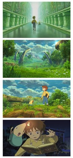 Ni No Kuni-A japanese translated to english title by coveted RPG masterminds Level 5 studios. Many Japanese translated titles have become cult classics in North America due to their use of heavily immersive story lines and well developed characters. The japanese anime aesthetic also helps intrigue a larger fan base in the Role Playing Game genre.
