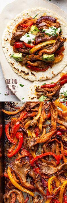 Veggie Recipes, Beef Recipes, Whole Food Recipes, Vegetarian Recipes, Dinner Recipes, Healthy Recipes, Enchiladas, Vegan Fajitas, Tapas