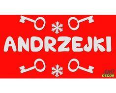 Andrzejki - Zestaw Dekoracji Styropianowych (ZA ZAMÓWIENIE) - ARQ - DECOR | Pracowania Dekoracji ARQ DECOR