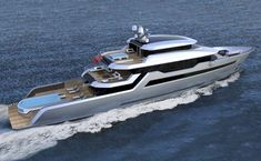 The Voyager 170 (52m) designed by Tony Castro is available from Bilgin.