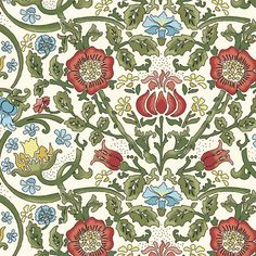 William Morris Print from In The Beginning