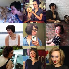 I've grown out a pixie cut three times in my life, if you...