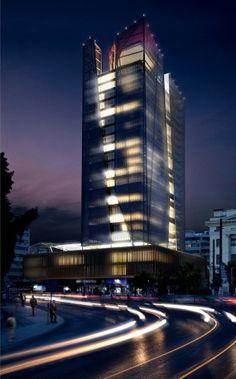 Piraeus Tower competition proposal / Petra Architects and Papaioannou + Associates