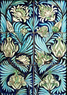 Willian De Morgan old tiles
