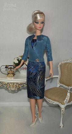 Silkstone Barbie in Arina fashions. | Flickr - Photo Sharing!