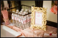 girl baby shower vintage rustic table decor ideas   ... Birthday Party - Kara's Party Ideas - The Place for All Things Party