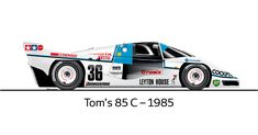 A brief history of #Toyota Motorsport