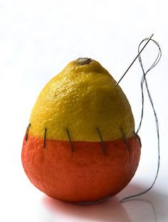 This fruit is having an identity crisis like I do at times--at times. Still Life Photography, Creative Photography, Art Photography, Human Body Photography, Ap Studio Art, Identity Art, Foto Art, Ap Art, Conceptual Art