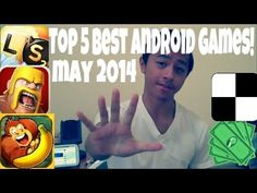Top 5 Best Android Games Of May 2014! Be sure to check out my youtube video!