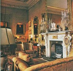 Chatsworth - Images, Architectural Digest, December, 1979; photography by Derry Moore.