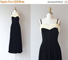 25% OFF.... De Llano dress  vintage 1930s dress  by DearGolden
