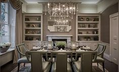 Our range of luxury dining room furniture & designer dining room sets will enhance any dining experience. Room Furniture, Dining Room Design, Dining Room Colour Schemes, Interior Design, Furniture, Luxury Dining, Luxury Dining Room, Luxury Interior, Townhouse Interior