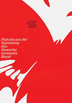 Armin Hofmann - Basel und die Stadtstrassen der Zukunft - Gewerbemuseum Basel (Original Plakattext) 1961