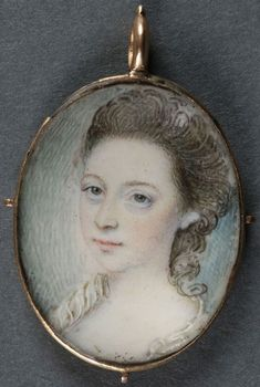 Miniature Painting of a Pretty Young Woman (item detailed views) Miniature Portraits, Miniature Paintings, Portrait Art, Portrait Paintings, Victorian History, Lovers Eyes, Victorian Farmhouse, Queen, Interesting Faces