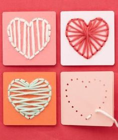 41 Sweet Heart Crafts Ideas For Valentines Day. Valentine's Day is adorned with numerous craft specialties. Handmade crafts infuse Valentine's Day with a special color. Numerous easy-to-make craft. Valentine's Day Crafts For Kids, Valentine Crafts For Kids, Valentines Day Activities, Valentines Day Party, Be My Valentine, Holiday Crafts, Art For Kids, Valentine Cards, Diy Christmas