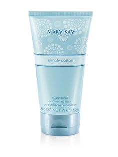 Mary Kay® Simply Cotton® Eau de Toilette Sugar Scrub $15 - Gifts Under 25 Dollars
