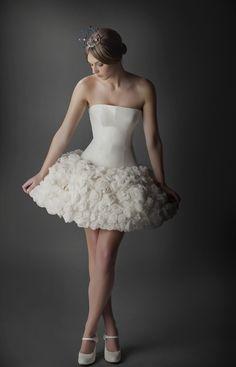 Vestido de novia para bailarinas! Ramon herrerias