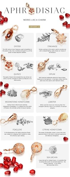Aphrodisiac...charm meanings