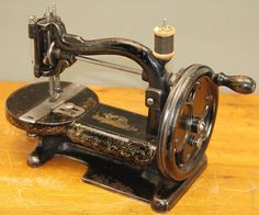 Extremely RARE Antique Canadian Sewing Machine 034 Raymond Household 034 C1888 | eBay