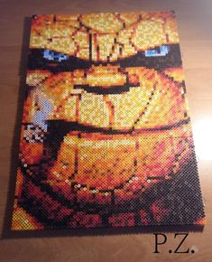 Ben Grimm - The Fantastic Four hama beads by Piazobel100