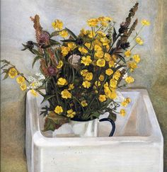 Lucian Freud Buttercups 1968                                                                                                                                                                                 More