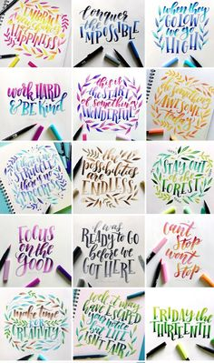 Calligraphy Quotes, Calligraphy Letters, Caligraphy, Hand Lettering Alphabet, Brush Lettering, Cute Qoutes, Hand Quotes, Hand Lettering Tutorial, Bullet Journal Aesthetic