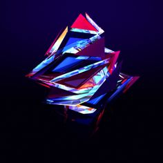 "Facets-Geometric Shapes-Abstract Art. Find more on the ""Facets - An Abstract type of art"" board."