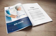 Hospital recruitment print ad, designed by BOLD Marketing. www.getboldmarketing.com