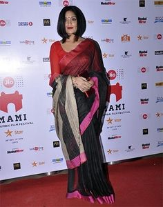 Sandhya Mridul Saree at MAMI 2015