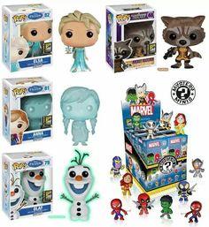 SDCC Exclusive Frozen Pops - Frozen Anna!