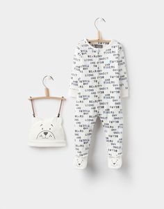 I love text print babygros a *little* bit too much... • Pride Cream Type Hat and Babygrow Set | Joules UK